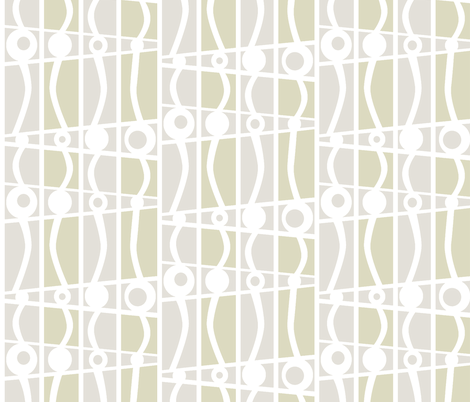striped mod silver stone fabric by glimmericks on Spoonflower - custom fabric
