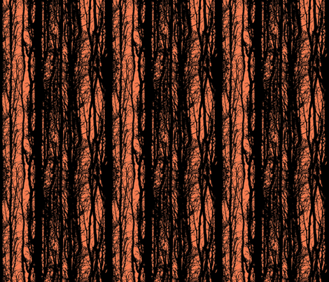 Forest Sunset fabric by lovekittypink on Spoonflower - custom fabric