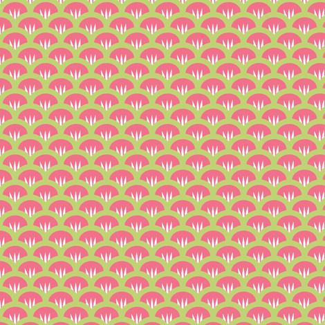 Suzy Woozy pink fabric by jillbyers on Spoonflower - custom fabric