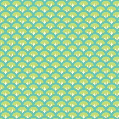 Suzy Woozy blue fabric by jillbyers on Spoonflower - custom fabric