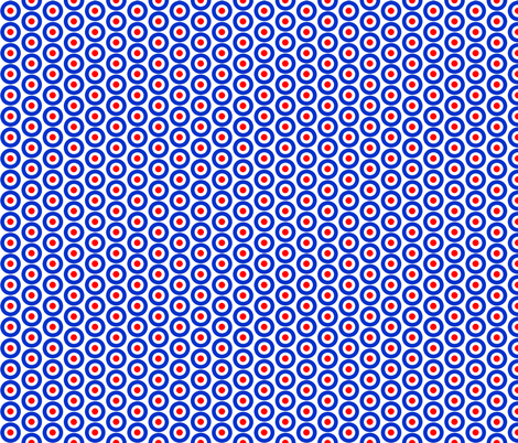 Mod Targets Small fabric by louiseisobel on Spoonflower - custom fabric