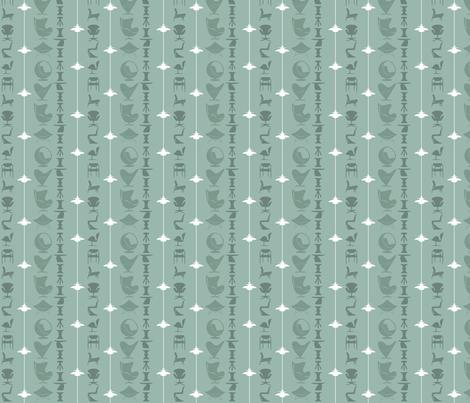 scandi-stripe-mint fabric by kurtcyr on Spoonflower - custom fabric