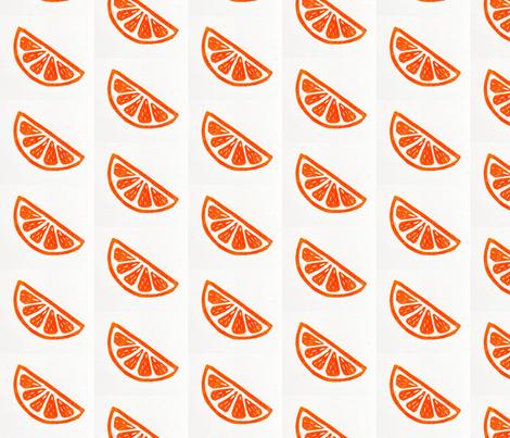 California Orange fabric by nancy'sdesigns on Spoonflower - custom fabric