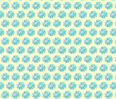 MEDUSA'S  JEWELS fabric by bluevelvet on Spoonflower - custom fabric