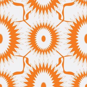 Orange sunflower2--ch