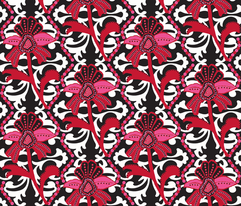 Noemi's Parisian Mod fabric by paragonstudios on Spoonflower - custom fabric