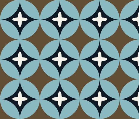 Geo 6 fabric by owlandchickadee on Spoonflower - custom fabric