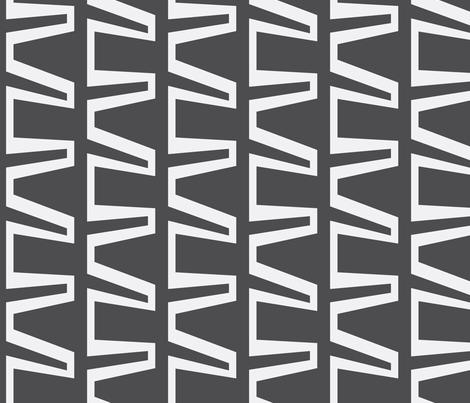 link_charcoal fabric by lindsey_merritt on Spoonflower - custom fabric