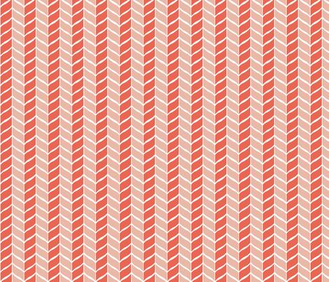 leaf_red fabric by lindsey_merritt on Spoonflower - custom fabric