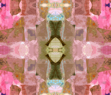 Luminosity - collage fabric by martaharvey on Spoonflower - custom fabric