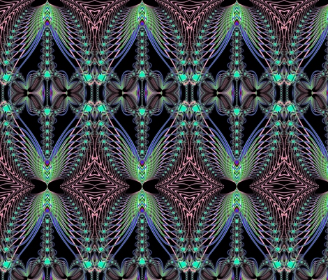 Fractal: Wonderous Wings fabric by artist4god on Spoonflower - custom fabric