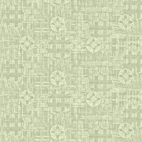 crossflower - green mint, grey fabric by materialsgirl on Spoonflower - custom fabric