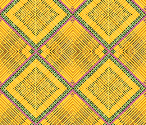 Number 2 Weave fabric by whimzwhirled on Spoonflower - custom fabric