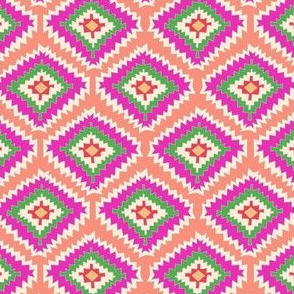 Aztec Fiber (pink flamingo)
