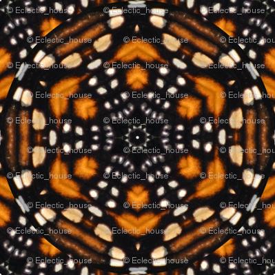 Monarch Butterfly Kaleidoscope