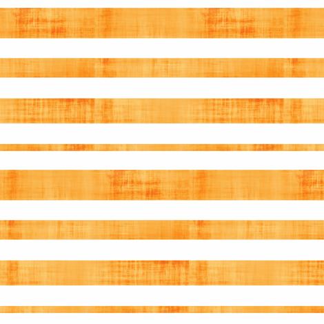 Weathered Stripes - Tangerine fabric by owlandchickadee on Spoonflower - custom fabric