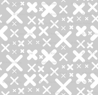 X - gray