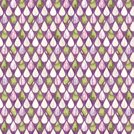 Rehasia's Raindrops fabric by siya on Spoonflower - custom fabric