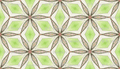 Celeriac Green Diamonds