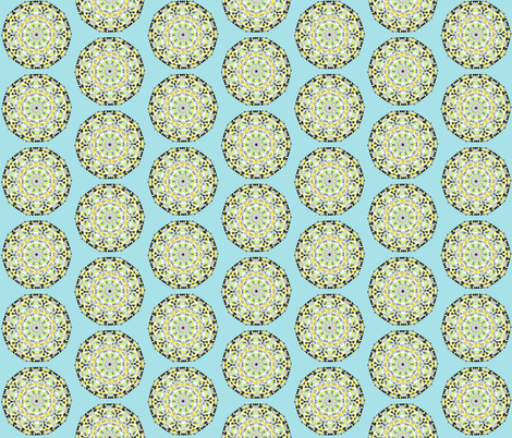 Sunny Day Spin fabric by beththompsonart on Spoonflower - custom fabric