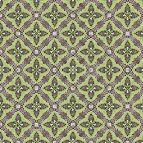 Celeriac Cross II fabric by siya on Spoonflower - custom fabric