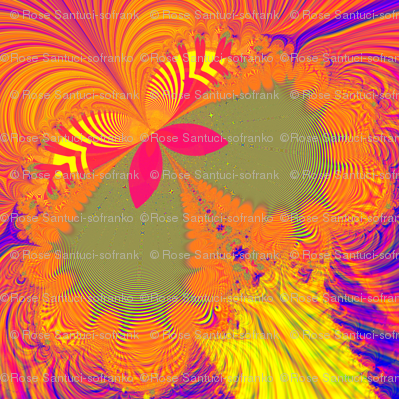 Fractal: Psychedelic Butterfly Explosion