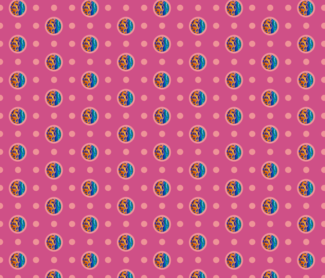 Pin&Pon Popwava fabric by joancaronil on Spoonflower - custom fabric