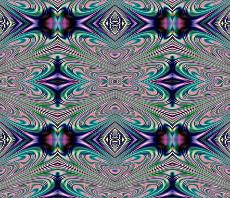 Fractal: Explosion of Love fabric by artist4god on Spoonflower - custom fabric