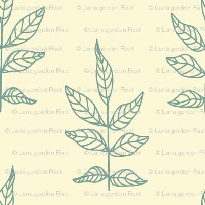 Leaves_Soft Aqua