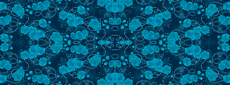 Paradise Kiss Roses Wallpaper Aimee Spoonflower