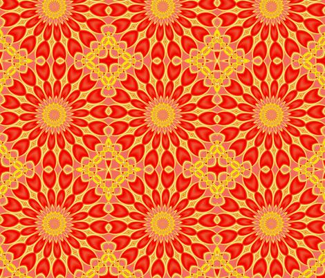 Fractal: Tulip Garden fabric by artist4god on Spoonflower - custom fabric