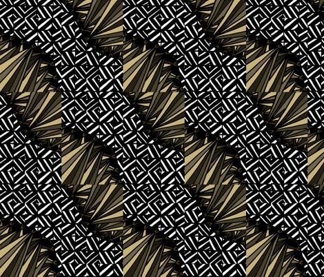 Horse Hair Stripe fabric by sweetleighmama on Spoonflower - custom fabric