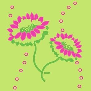 Breezy Flowers! - Summertime Fun! - Watermelon - © PinkSodaPop 4ComputerHeaven.com