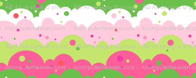 Cloudy Spots Afternoon! - Summertime Fun! - Watermelon - © PinkSodaPop 4ComputerHeaven.com