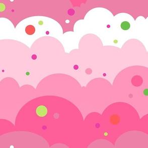 Cloudy Spots Morning! - Summertime Fun! - Watermelon - © PinkSodaPop 4ComputerHeaven.com