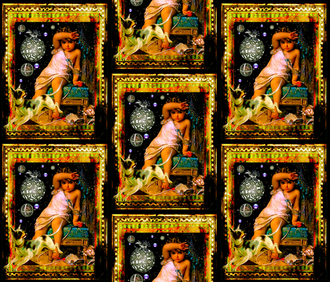 Blame It On The Dog fabric by whimzwhirled on Spoonflower - custom fabric