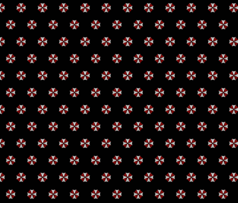 umbrella_Corp_Inspired fabric by craftelle on Spoonflower - custom fabric