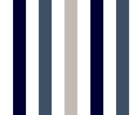 stripe indigo fabric by paragonstudios on Spoonflower - custom fabric