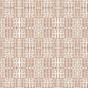 edo bead - white, pink, red, beige