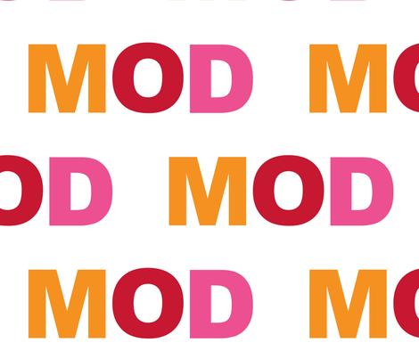 MOD Sunshine fabric by paragonstudios on Spoonflower - custom fabric