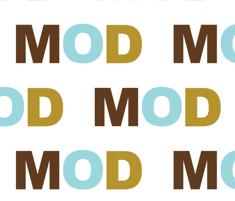 MOD harbor  fabric by paragonstudios on Spoonflower - custom fabric