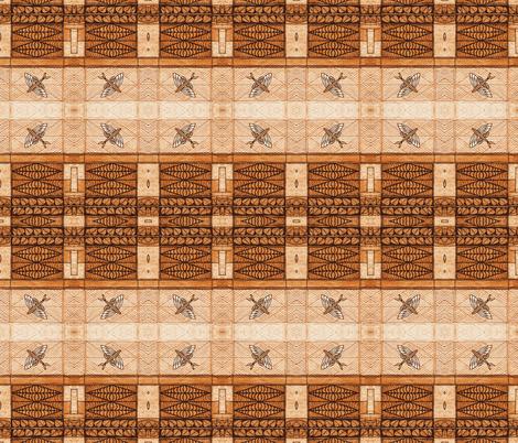 Flying Fish Tapa fabric by flyingfish on Spoonflower - custom fabric