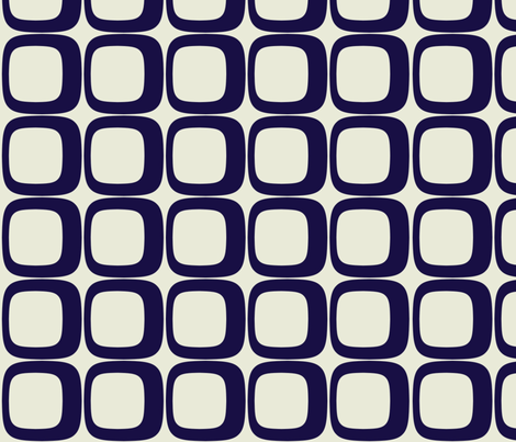 Navy Squared fabric by brandi_ on Spoonflower - custom fabric