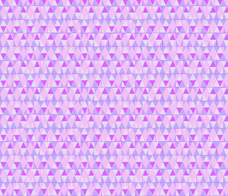 Pink Diamonds Magenta Triangles fabric by vinpauld on Spoonflower - custom fabric