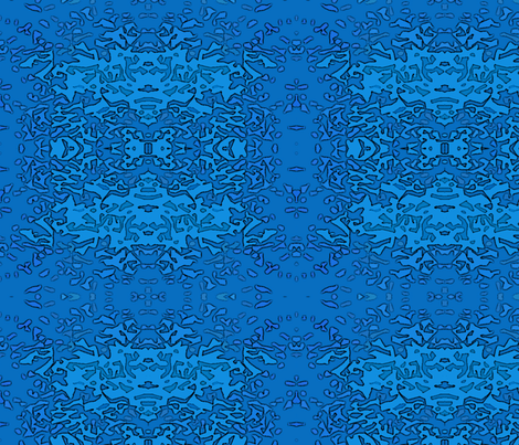 Blender Blue fabric by mammajamma on Spoonflower - custom fabric