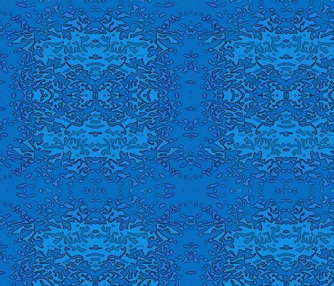Blender Blue fabric by mammajamma on Spoonflower - custom fabric