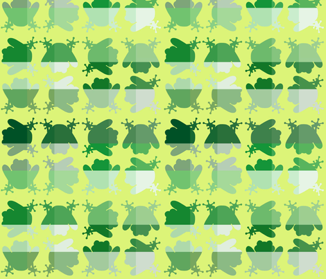 FrogCheck2 fabric by patters on Spoonflower - custom fabric
