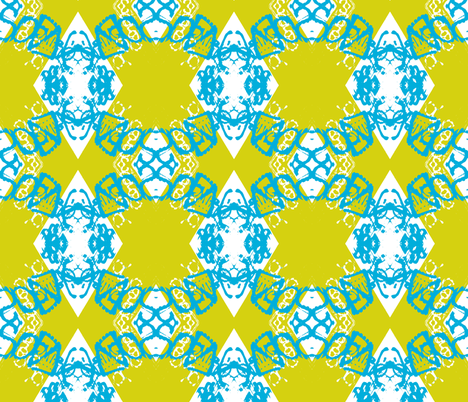 Chain Reaction fabric by susaninparis on Spoonflower - custom fabric