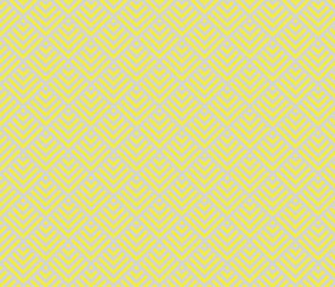 Yellow shingles fabric by mezzime on Spoonflower - custom fabric