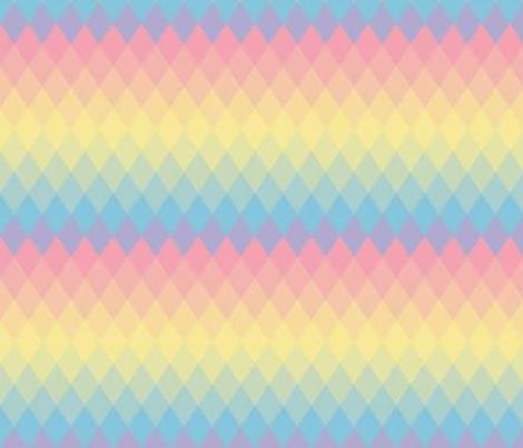 Parallelogram rainbow fabric by mezzime on Spoonflower - custom fabric